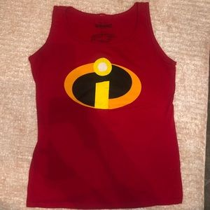 Disney Pixar The Incredibles women's tank